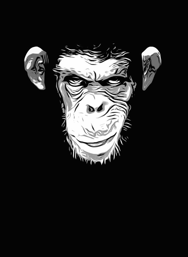 Evil Monkey Digital Art