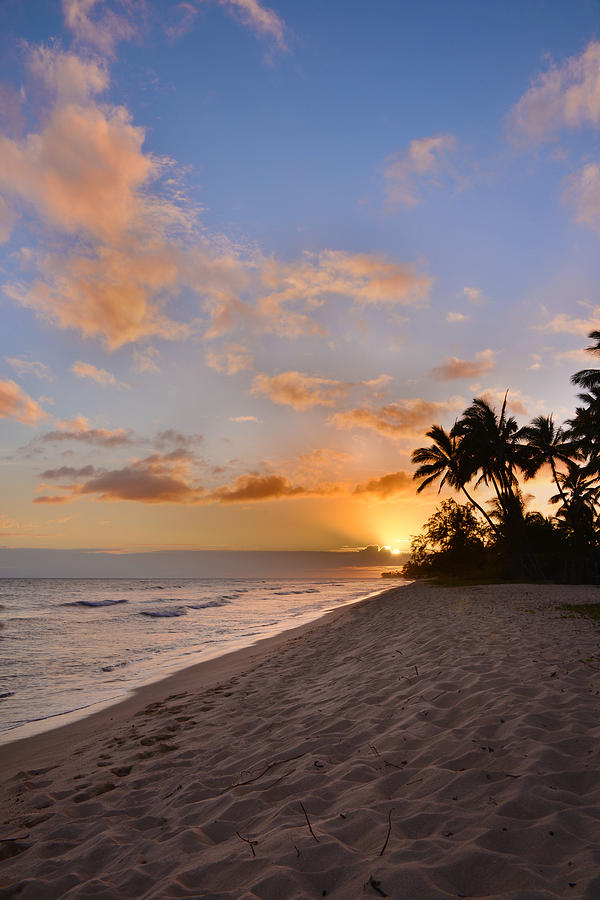 Ewa Beach Sunset 2 - Oahu Hawaii Photograph