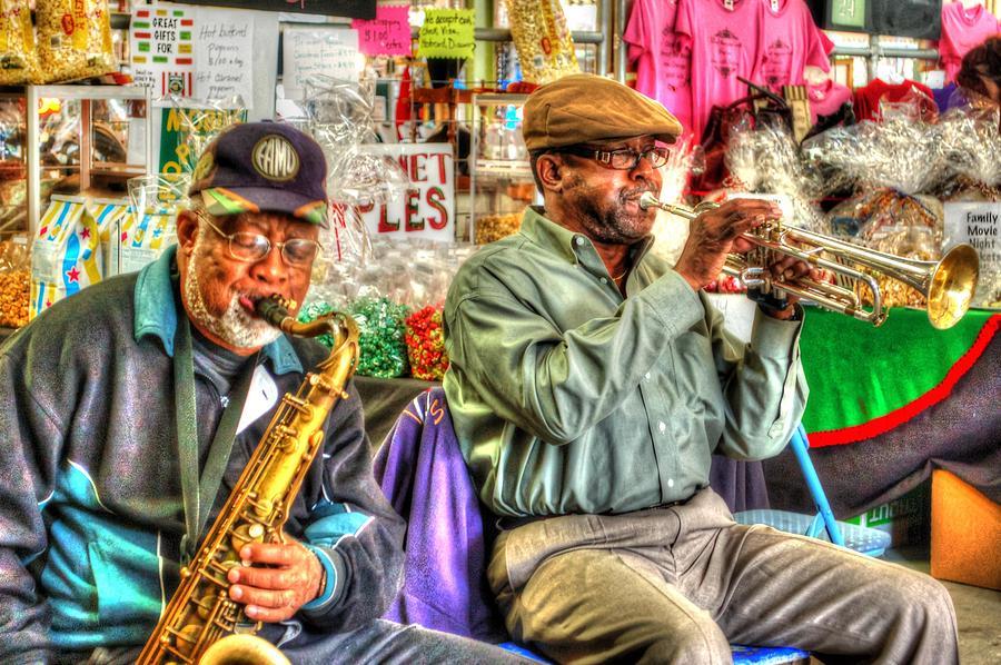 Excelsior Band Horn Players Digital Art