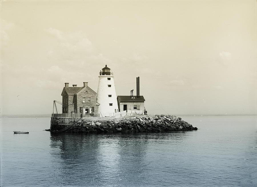 Execution Rocks Lighthouse New York Photograph