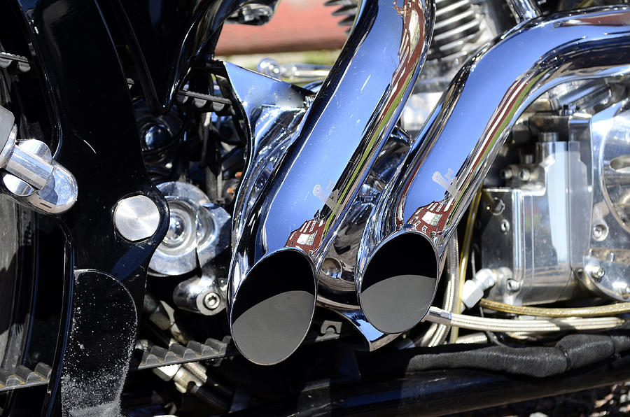 Exhaust Pipes  Photograph  - Exhaust Pipes  Fine Art Print