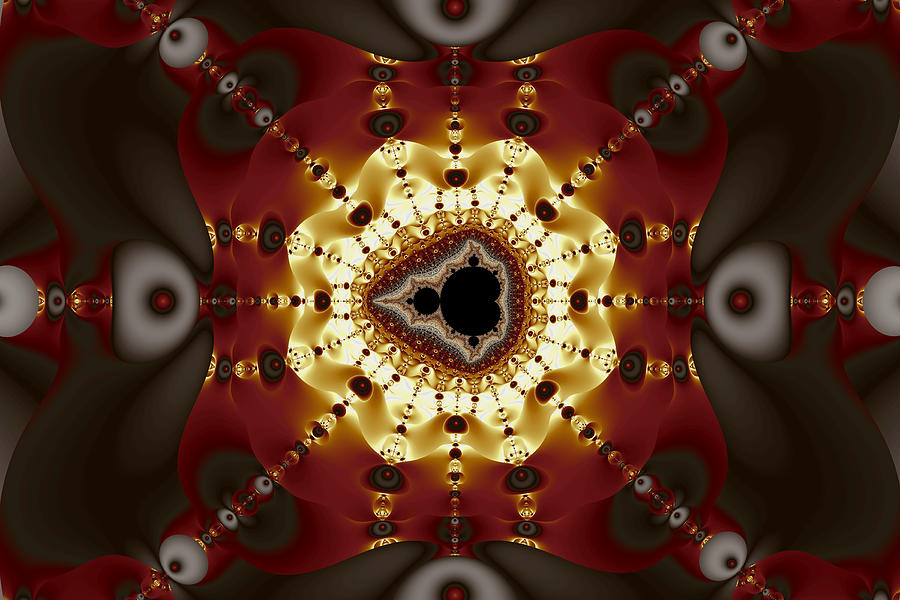 Exiled Mandelbrot No. 9 Digital Art  - Exiled Mandelbrot No. 9 Fine Art Print
