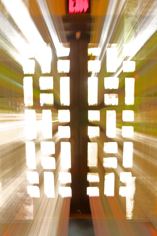 Abstract Photograph - Exit Doors by Stuart Litoff