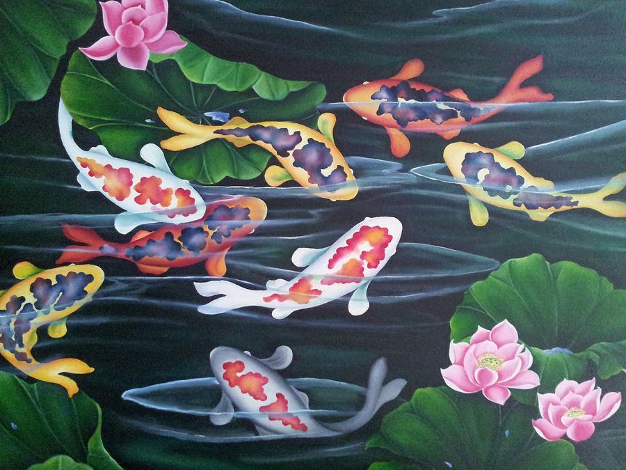 exotic koi fishes by bhavna bachkaniwala