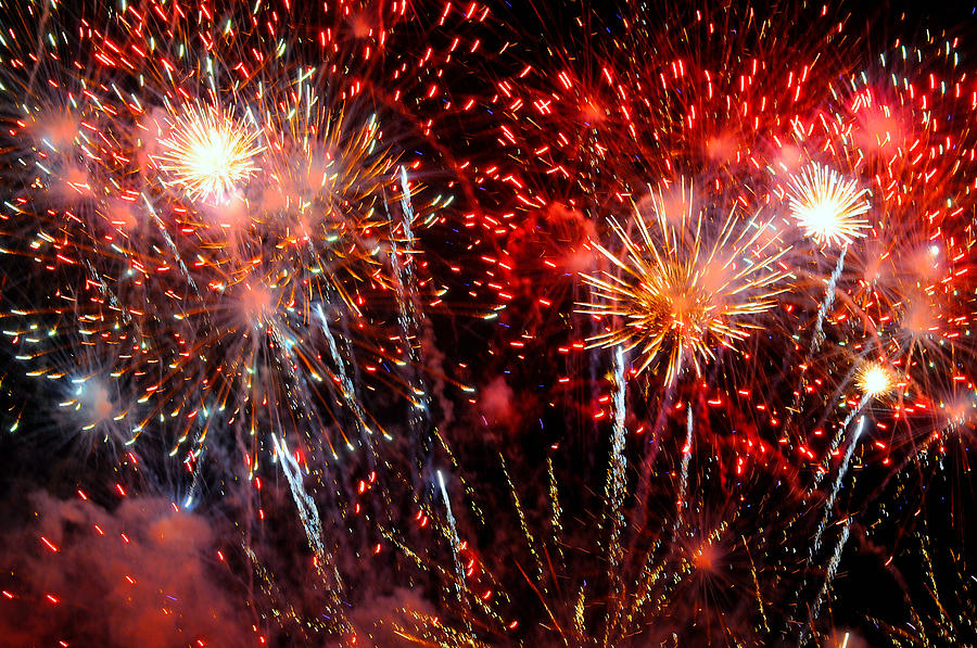 Fireworks Photograph - Explode by Diana Angstadt