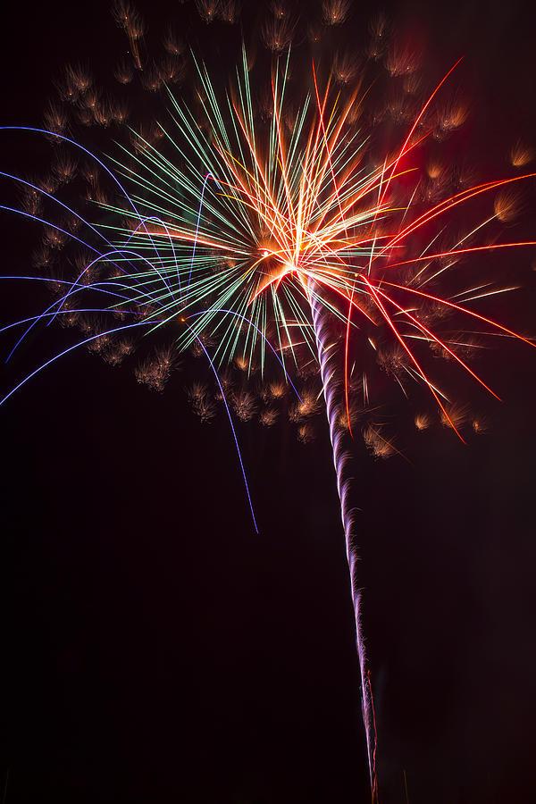 Exploding Colors Photograph