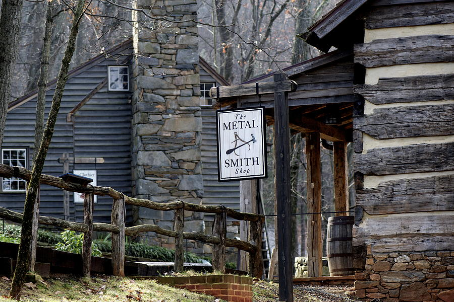 Exploring Michie Tavern In Charlottesville Va Photograph
