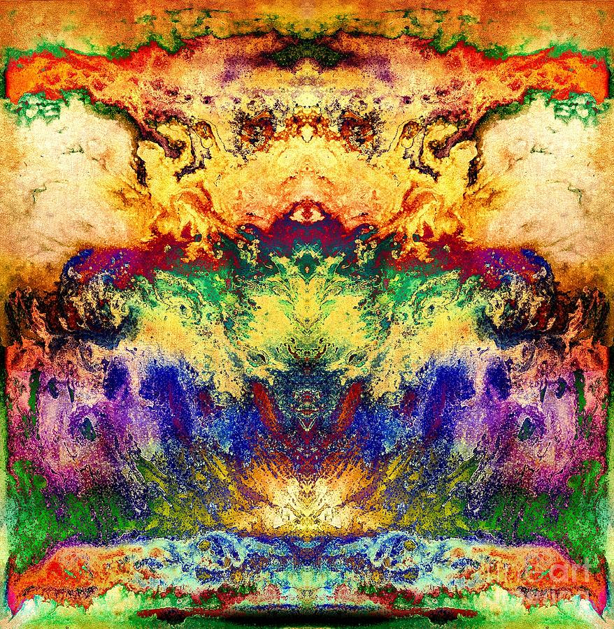 Explosion Of Color Digital Art  - Explosion Of Color Fine Art Print