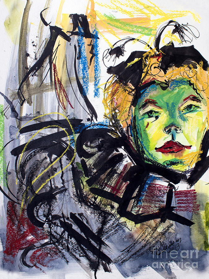 Expressive Homage To Henri De Toulouse-lautrec At The Moulin Rouge Painting