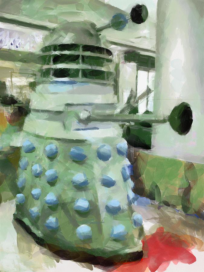 Dalek Photograph - Exterminate by Steve Taylor