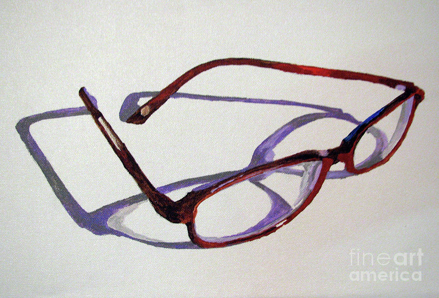 Eye Glasses 1 Painting by Nancie Johnson