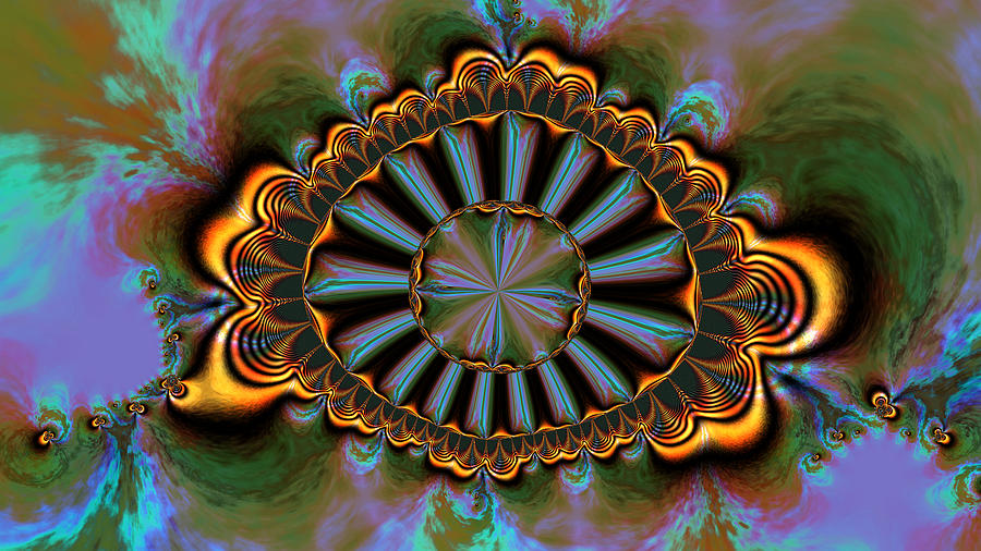 Digital Digital Art - Eye Of Centauris by Claude McCoy