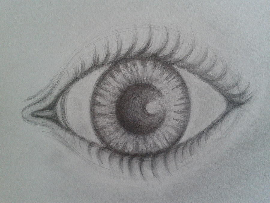 Eye Of Soul Drawing  - Eye Of Soul Fine Art Print