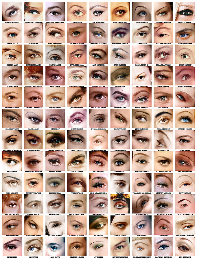 Eyes Of Hollywood - Old Era Digital Art