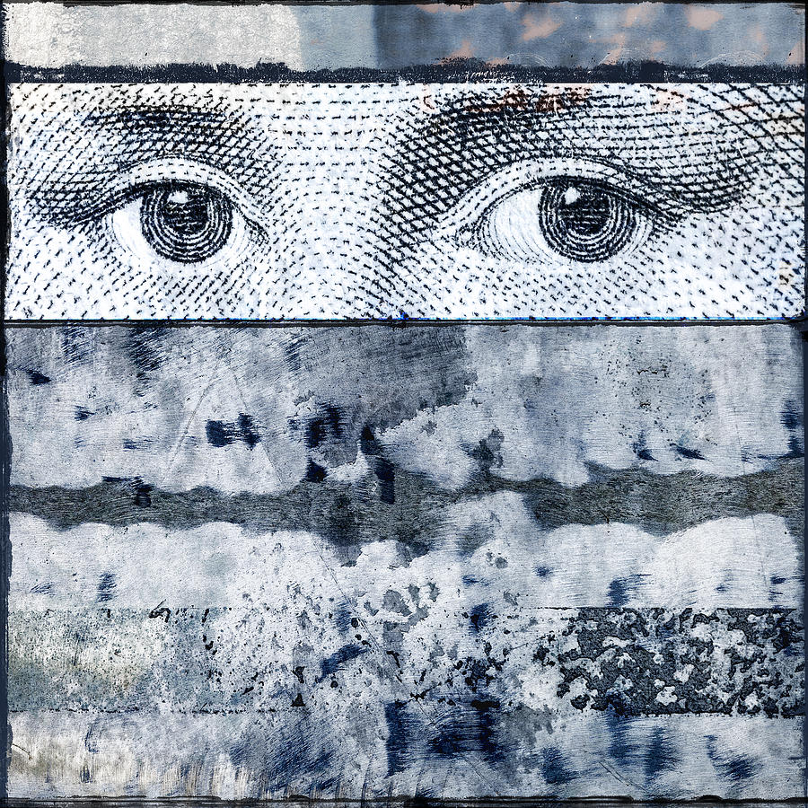 Eyes On Blue Photograph  - Eyes On Blue Fine Art Print