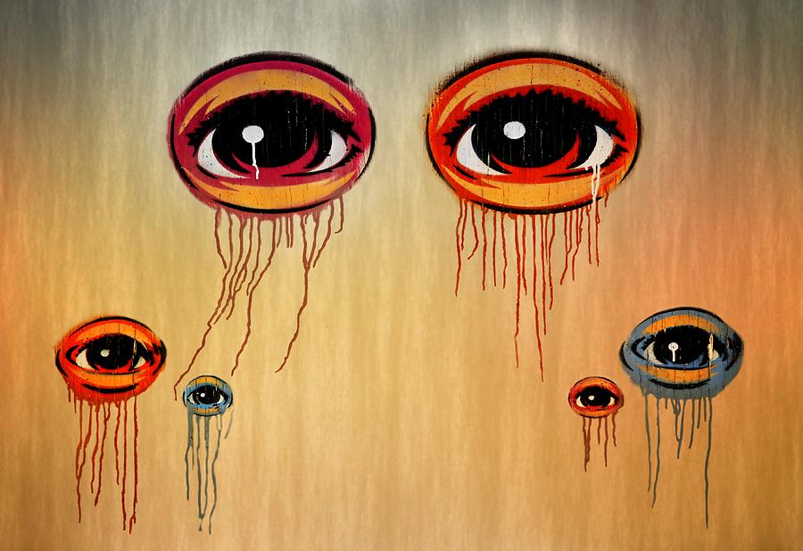 Eyes Photograph - Eyes by Steven  Michael