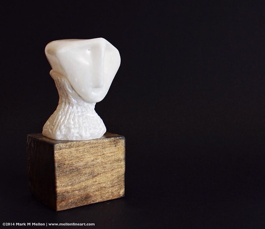 Stone Sculpture - Fabulas Spiritus  by Mark M  Mellon