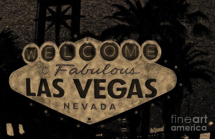 Las Vegas Photograph - Fabulost Vegas Spelling Correct by John Malone