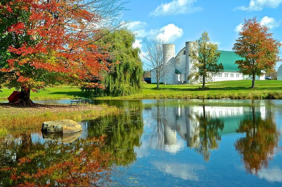 Fabulous Fall Farm Photograph