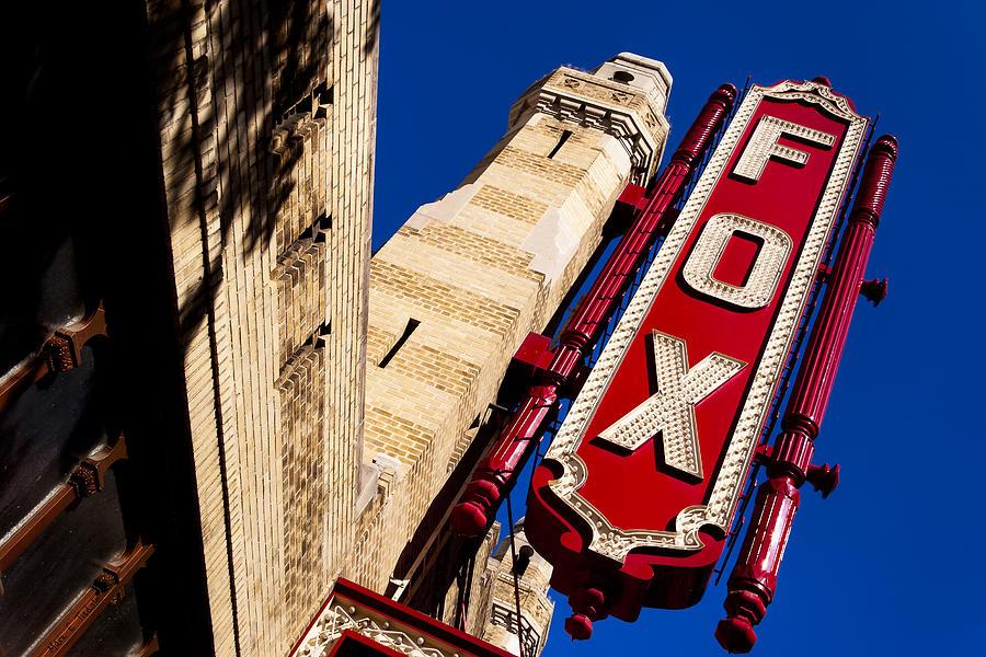 Atlanta Photograph - Fabulous Fox In Atlanta by Mark E Tisdale