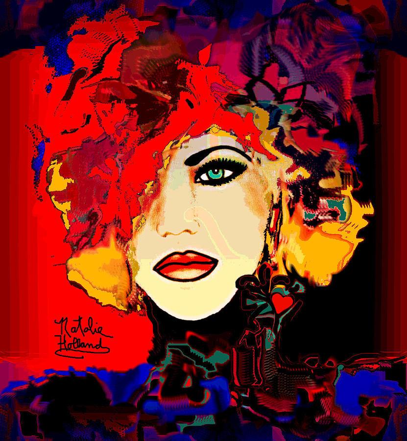 Face 14 Mixed Media