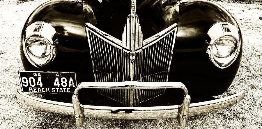 Auto Photograph - Face Of A Ford by Tanya Jacobson-Smith