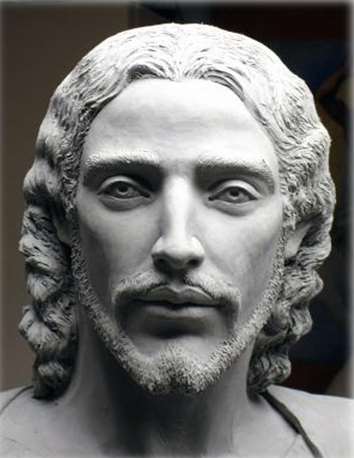 Face Of Jesus Sculpture