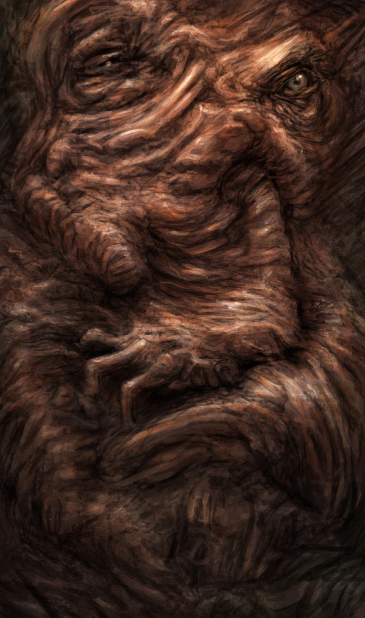 Beast Painting - Face Of The Beast by Ethan Harris