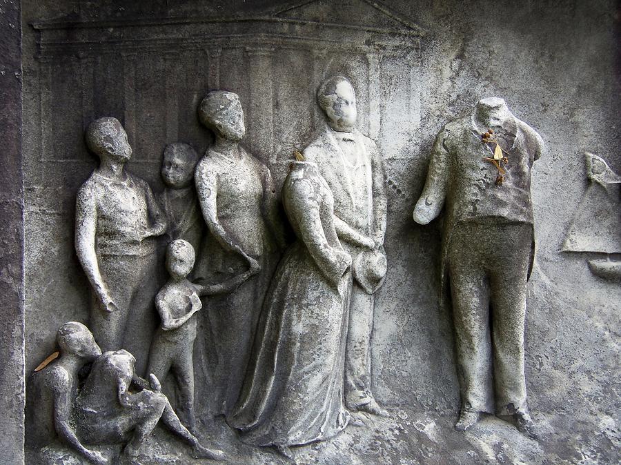Cemetery Photograph - Faceless Memorial by Adam L
