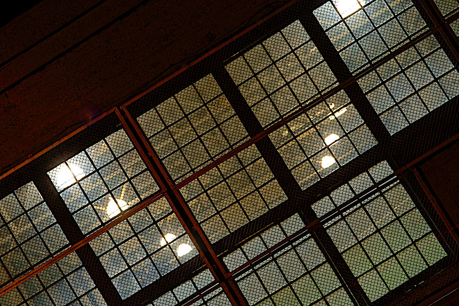 Factory Window Photograph