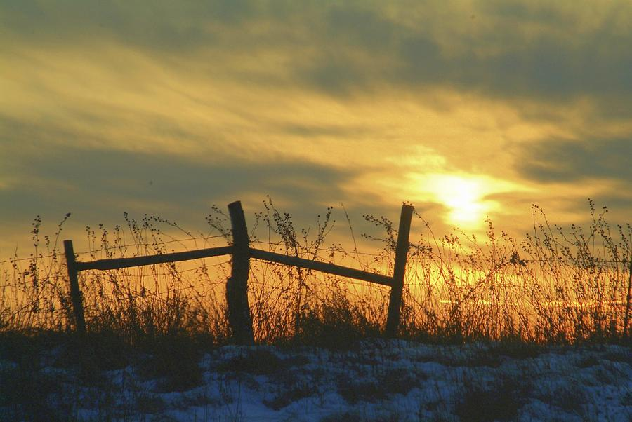 Sunsets Photograph - Fading by Al  Swasey