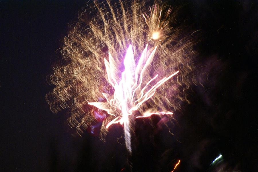 Fairies In The Fireworks I Photograph  - Fairies In The Fireworks I Fine Art Print