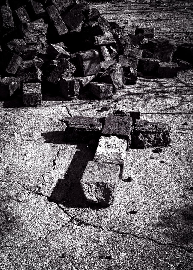 Faith Among The Ruins Photograph  - Faith Among The Ruins Fine Art Print
