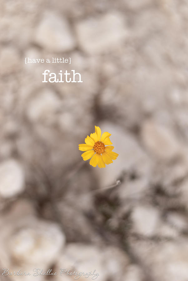 Faith Photograph  - Faith Fine Art Print