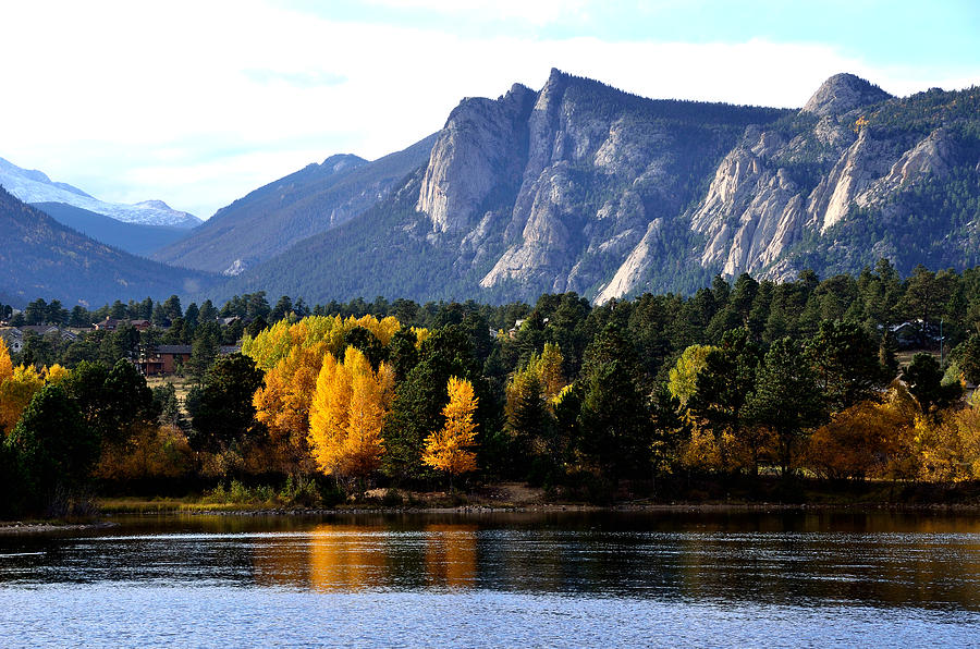 Fall At Lake Estes Photograph