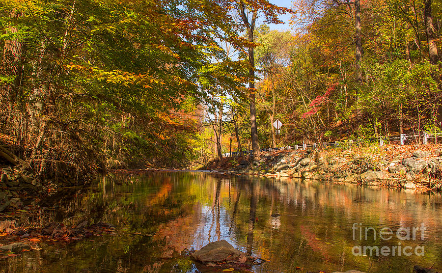 Fall At Valley Creek  Photograph