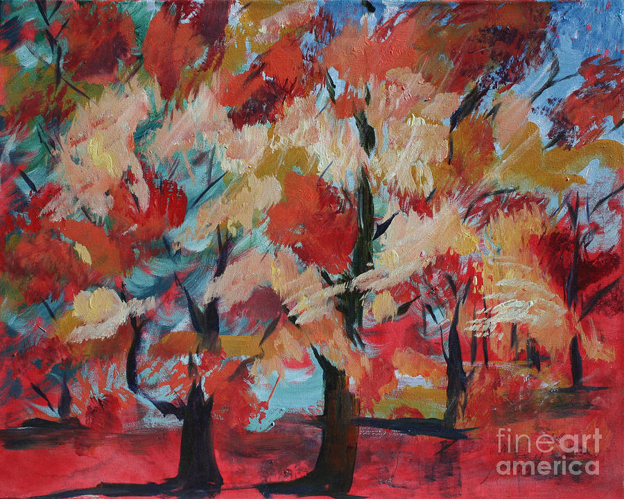 Fall Colors Painting By Avonelle Kelsey