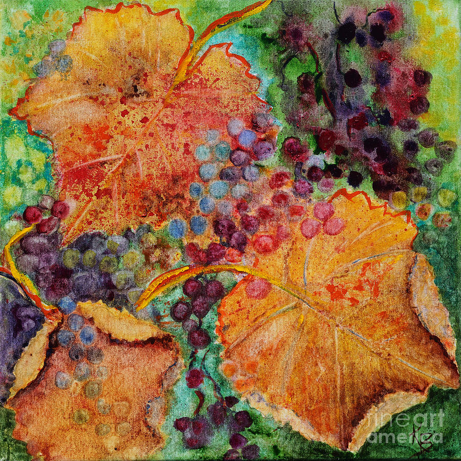 Fall Colors Painting By Karen Fleschler