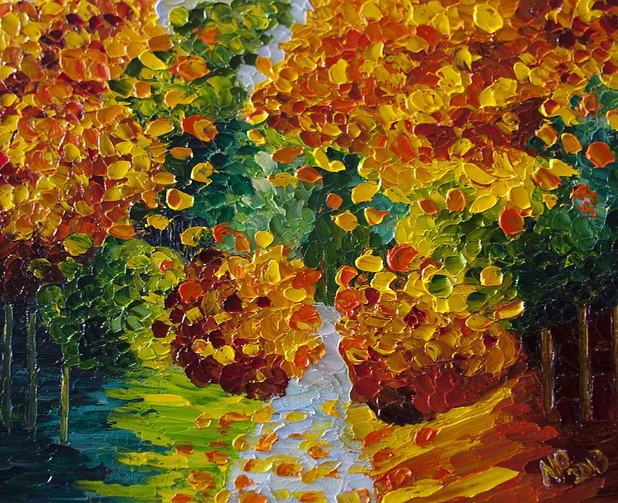 Fall Colors Painting By Natasha Petrosova