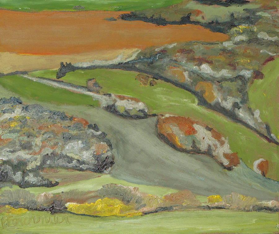 Fournier Painting - Fall Patchwork by Francois Fournier