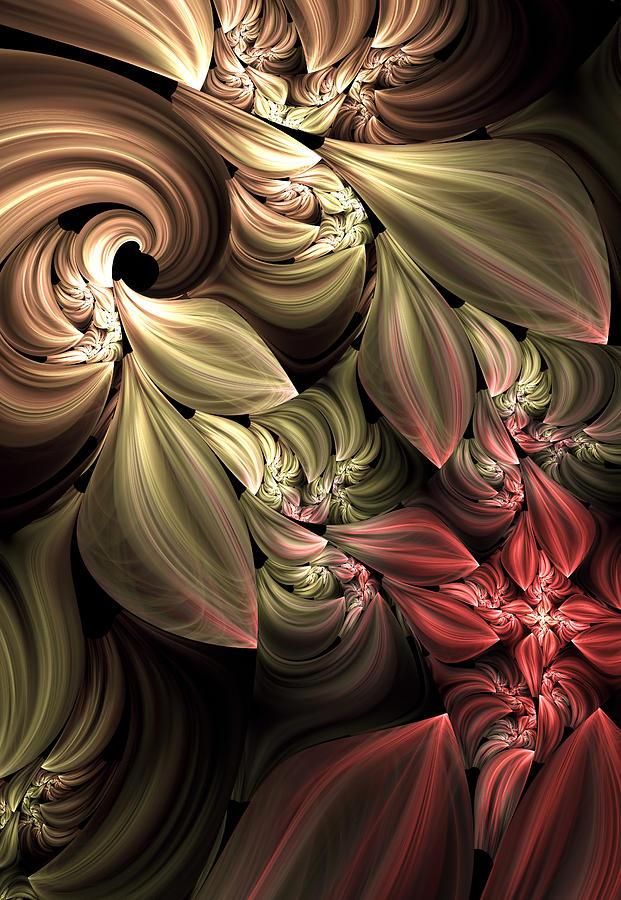Fallen From Grace Abstract Digital Art