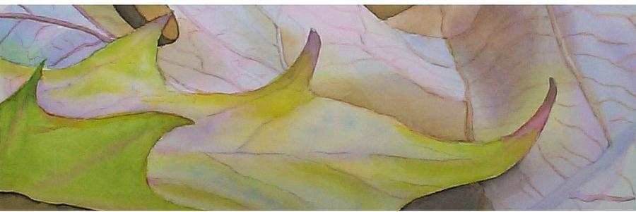 Fallen Leaves Painting  - Fallen Leaves Fine Art Print