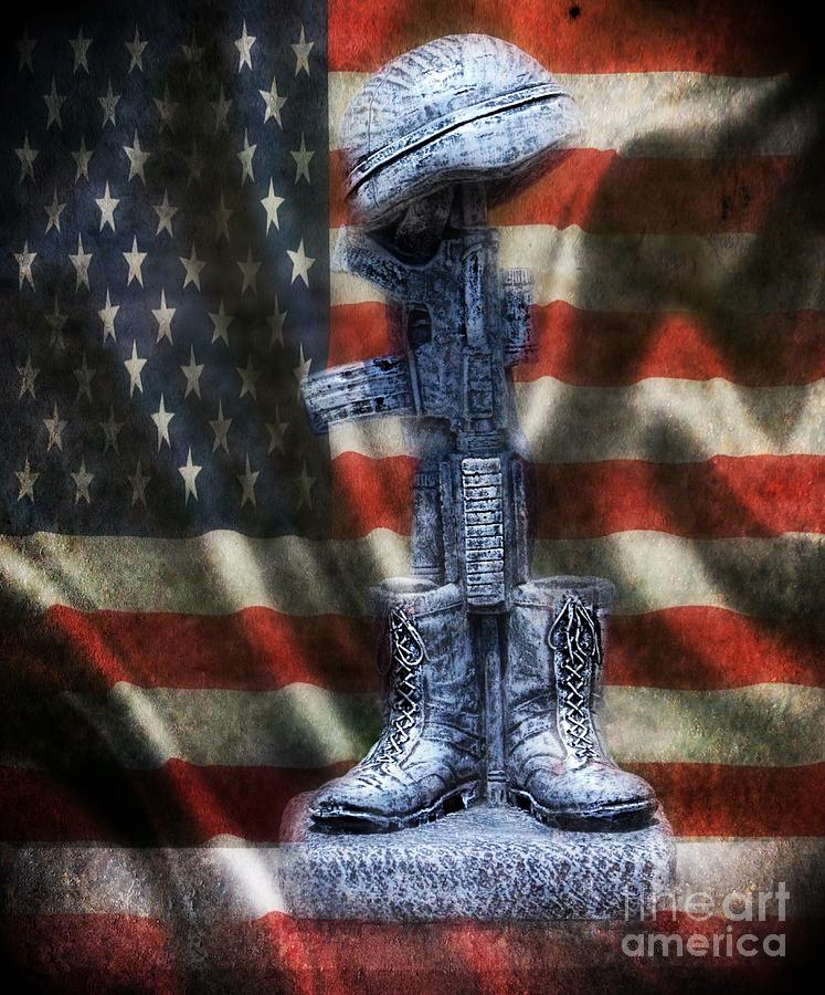 Fallen Soldiers Memorial Photograph