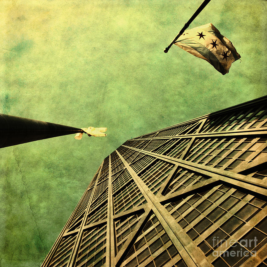 Chicago Photograph - Falling Up by Andrew Paranavitana