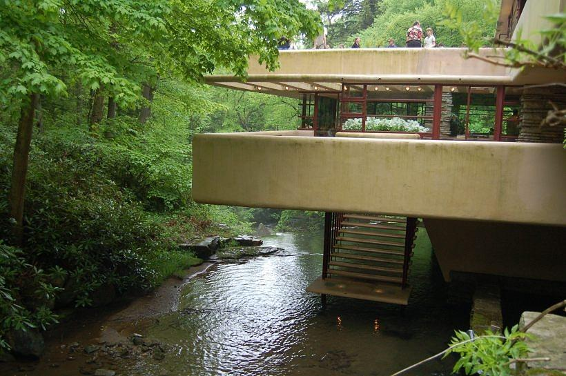 Falling water north terrace photograph by betsy farris for Terrace house stream online