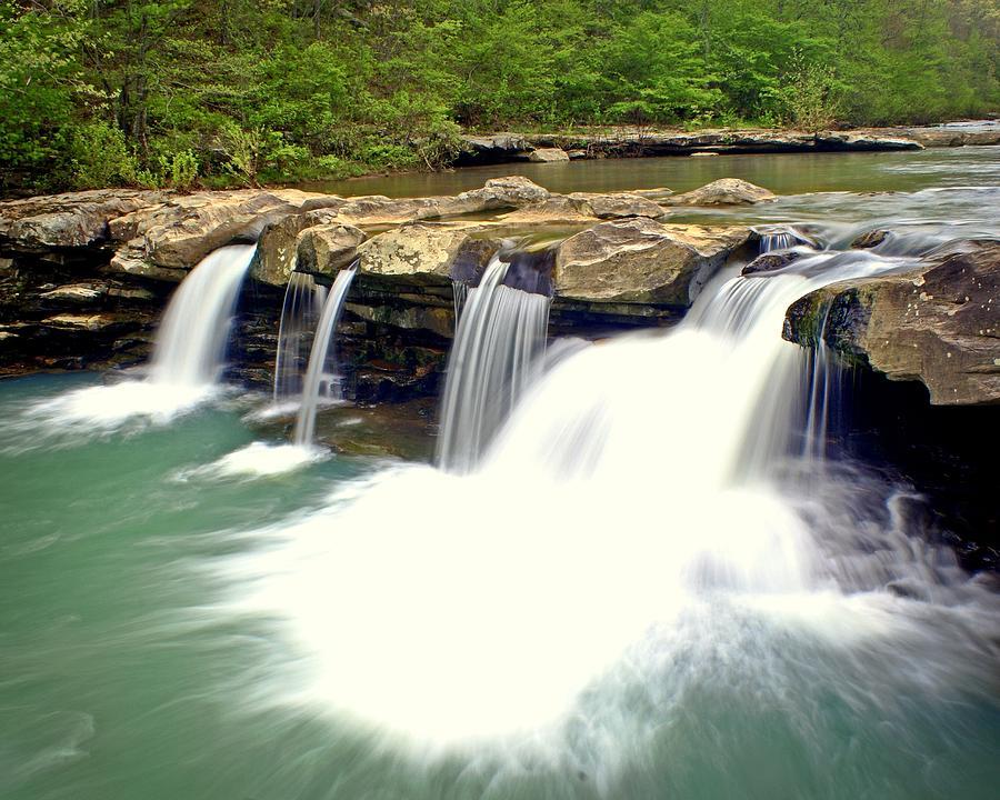 Waterfall Photograph - Falling Waters Falls 4 by Marty Koch