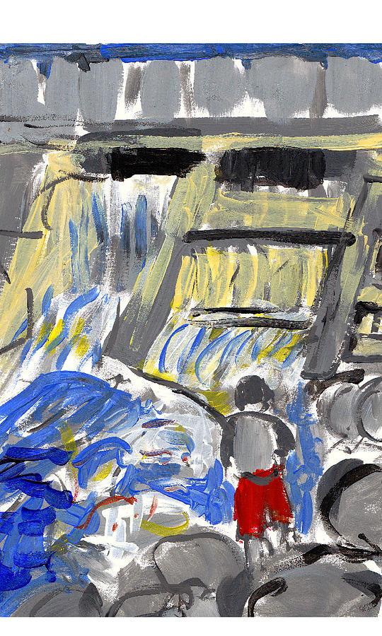 Falls Painting