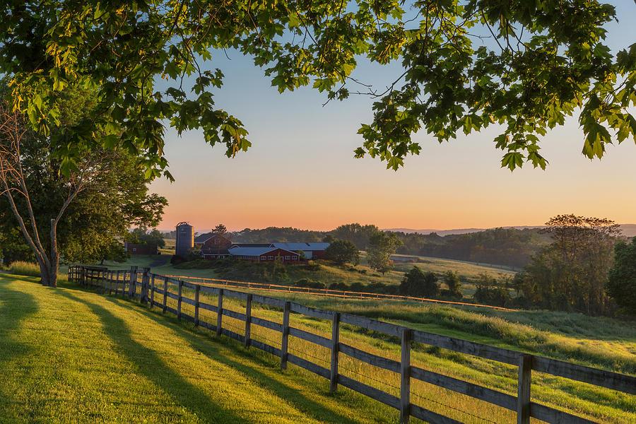 Family Farm Photograph