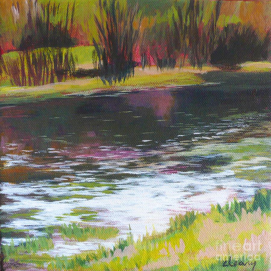 Fanno Creek Beaverton Painting