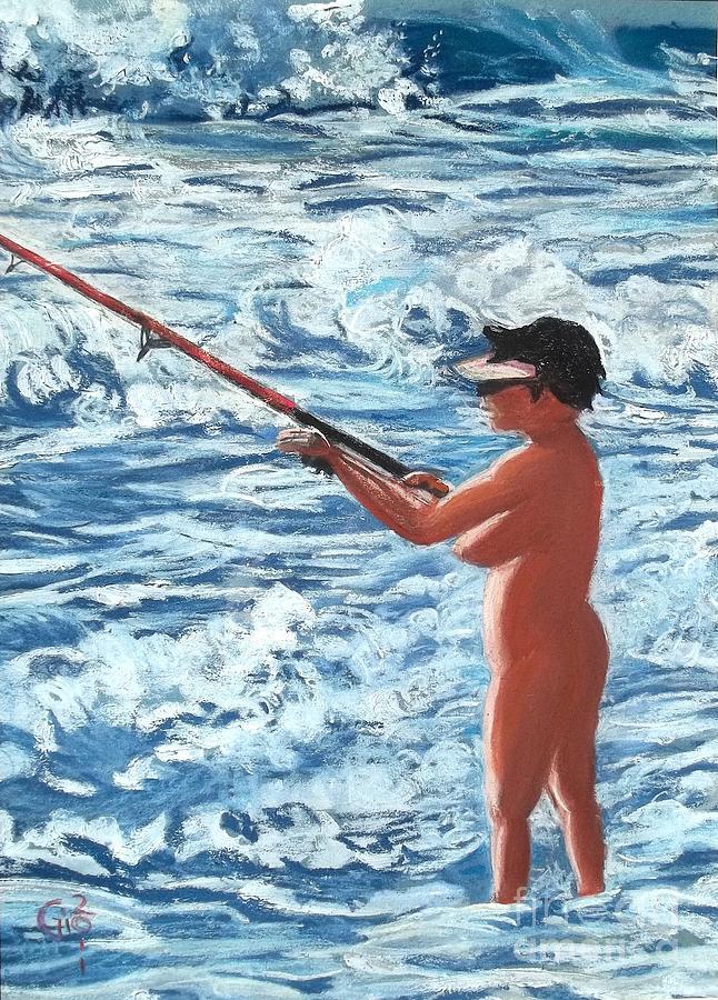 Fantasy Fishing Painting